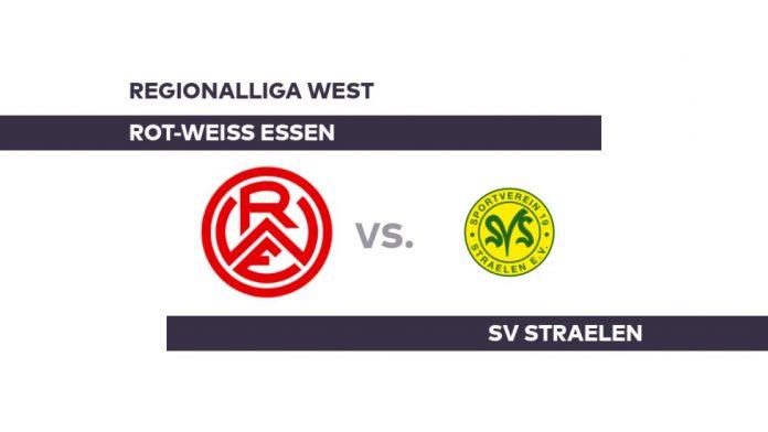 Rot-Weiss Essen - SV Straelen: Straelen plays food dizzying - Regionalliga West