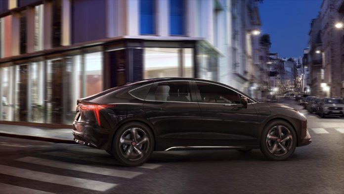 The electric limousine of the future of mobility: Renault Mobilis Limo
