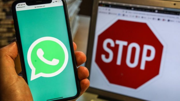 Whatsapp: Be careful!  If you download this, there is a risk