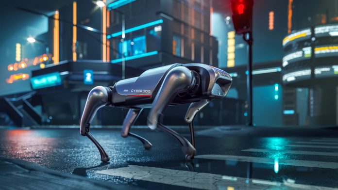 Xiaomi CyberDog: a robot dog with an Nvidia brain that can do backflips