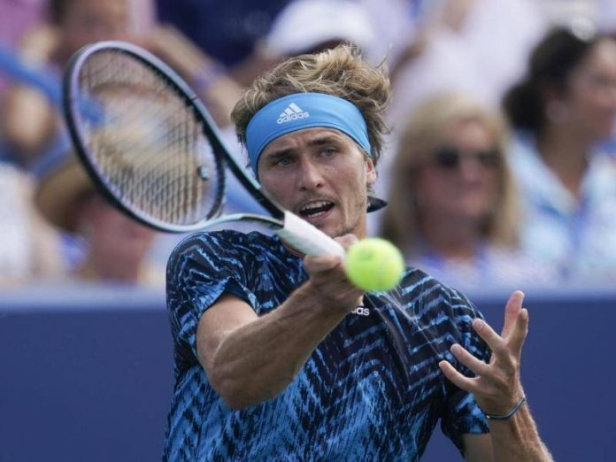 Zverev wins the Masters title in Cincinnati for the first time