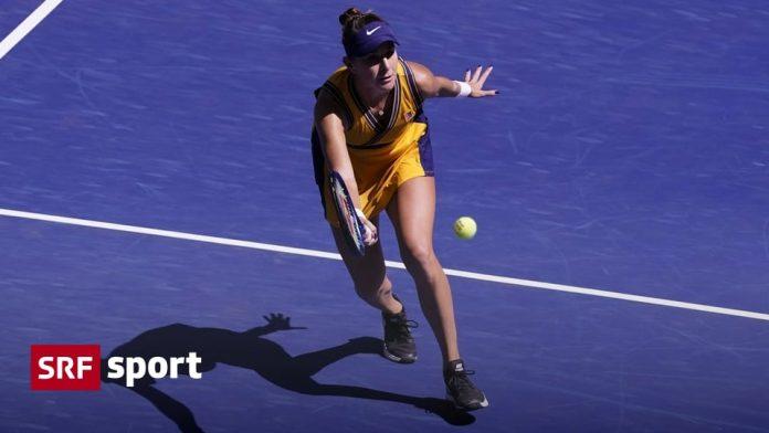 Swiss women's US Open - Bencic advances to third round - Tischmann lost - Sports