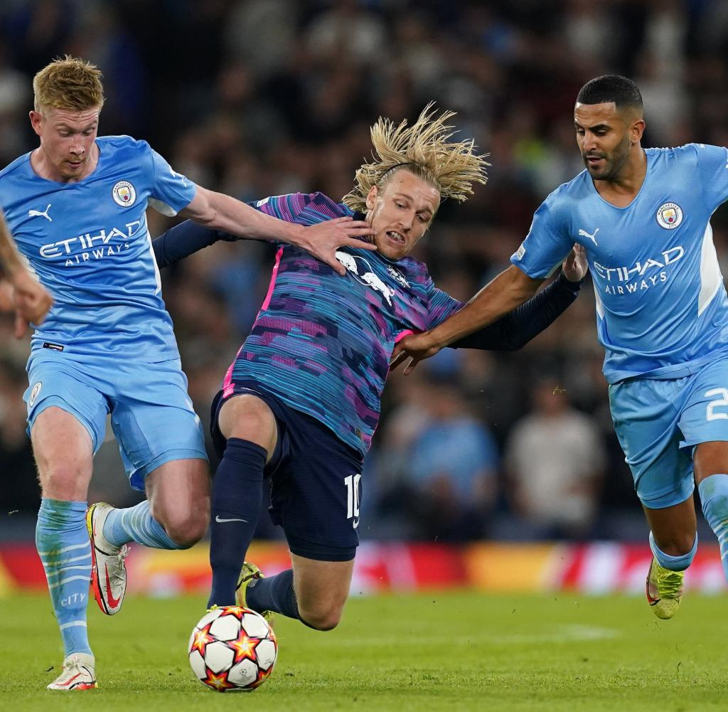 Manchester City - RB Leipzig