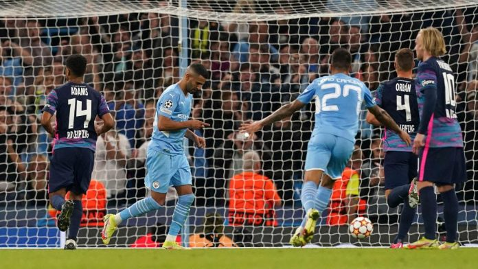 UEFA Champions League: Nine goals - Leipzig and Manchester City exchanged powerful blows
