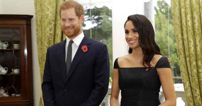 This is behind Harry and Meghan's 'Time' cover outfits