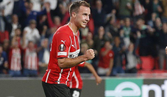 European League: goal and help dreams!  Gotze does magic in Eindhoven