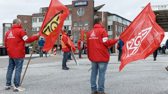 Protest against conversion plans: a warning blow to Airbus    NDR.de - News