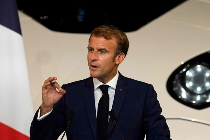 Emmanuel Macron announces 50 million vaccines for the first time
