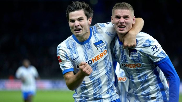 Hertha's victory over Fürth: After 87 seconds in the match, Hertha's Neuer turned things around