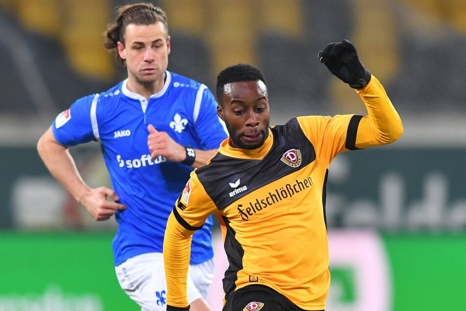 The duel could take place again on Sunday: Yannick Stark (30, back) against Eric Berko (27) - just turned around.  Stark now plays for Dresden, and Berkow plays for Darmstadt.
