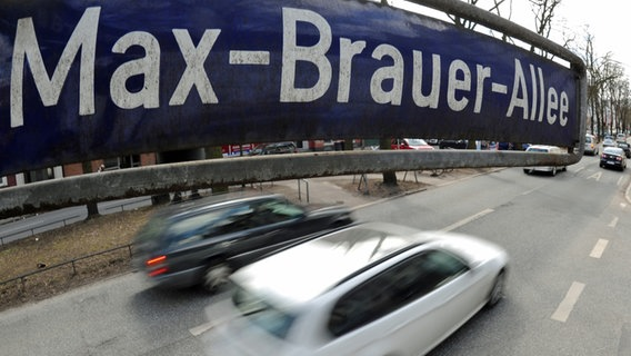 Max-Broyer-Alli in Hamburg-Altona.  Alliance Image Alliance / dpa Photo: Angelica Wormuth