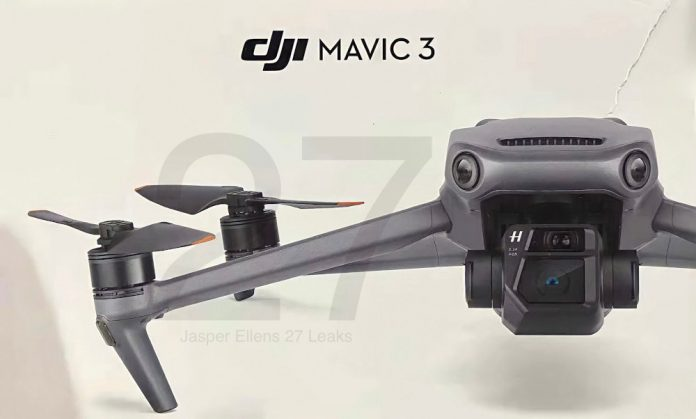 DJI Mavic 3 comes in November with a large 4/3