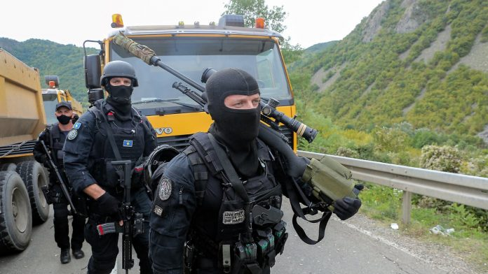 Kosovo police in the border area: Serbia puts its forces on alert