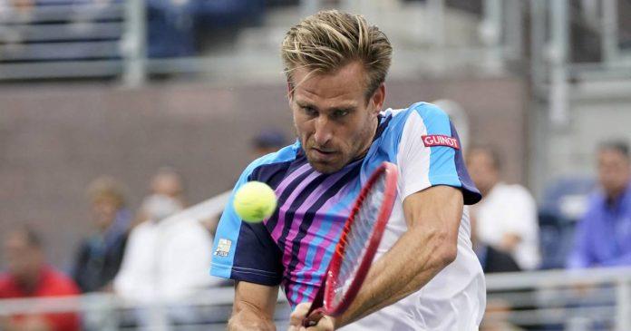 Peter Gojowczyk in the semifinals at Metz
