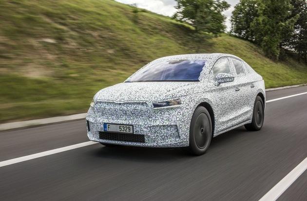 ŠKODA ENYAQ COUPÉ iV: Electric mobility in its most elegant form