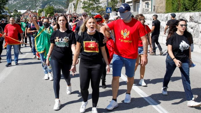 Tensions in Montenegro: protests against the new head of the Church