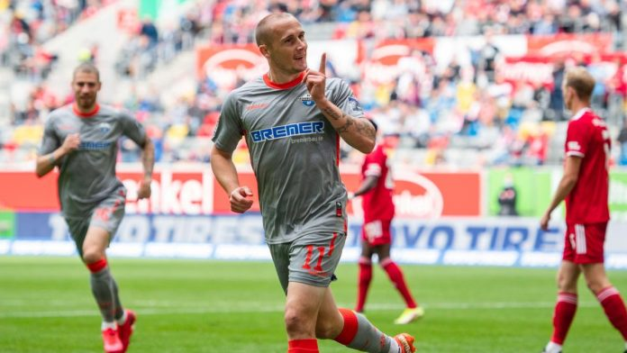 Second Division: Paderborn won in Dusseldorf, Regensburg with a draw only