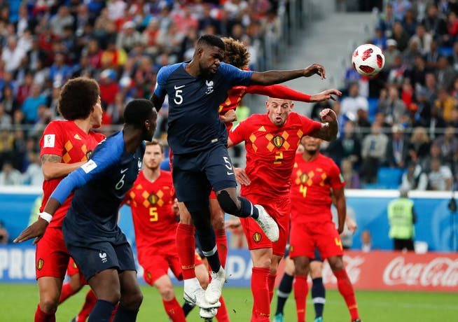 Defender Samuel Umtiti led France to the 2018 World Cup final against Belgium.