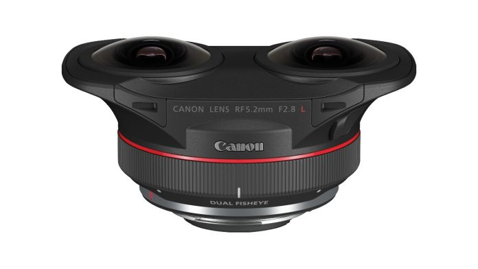 Canon's new fisheye lens captures the world in 180°