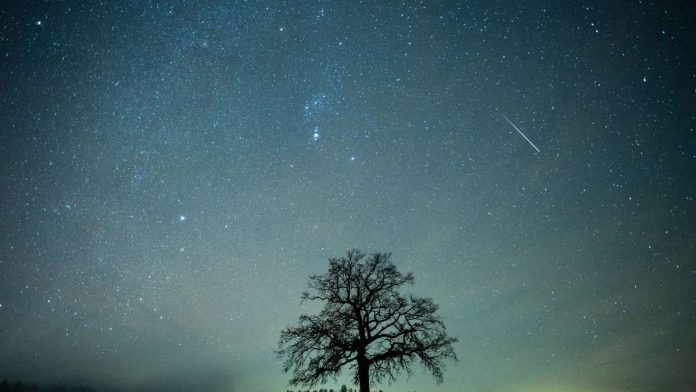 A meteor is raining over Germany: this is how you can marvel at the Draconids today