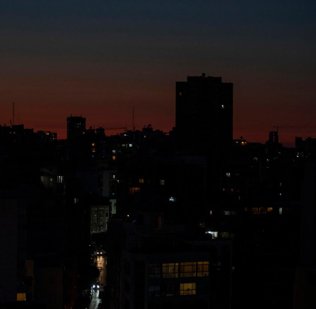 Beirut was already in the dark after the power outage in May