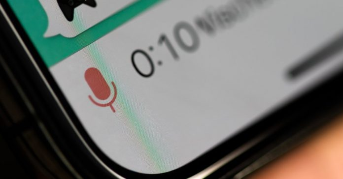 WhatsApp is taking a break from voice messages