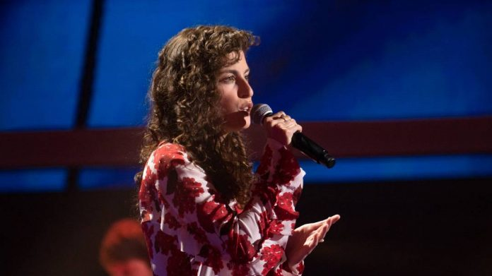 At ESC, Anne-Sophie got zero points - has the shock been overcome?