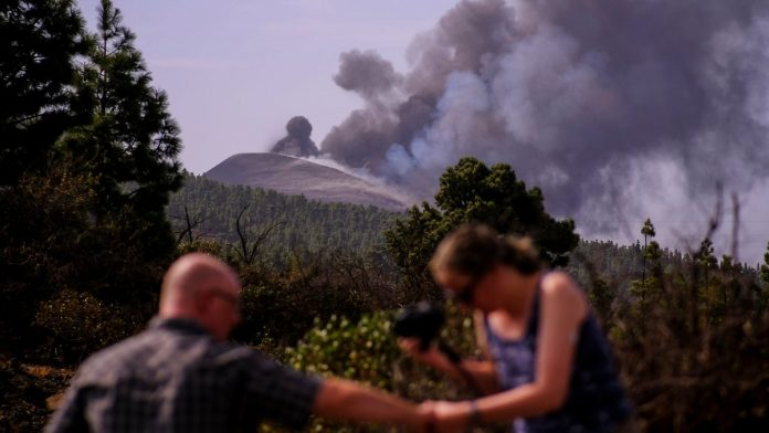 Curfew lifted: The weather on the volcanic island of La Palma is back for better