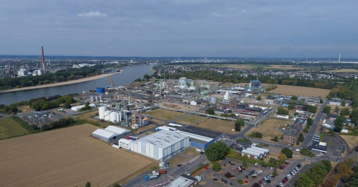 Evonik in Niederkassel-Lülsdorf: a chemical company wants to sell the site