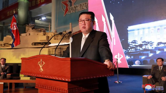 Kim Jong-un blames the United States for the arms race