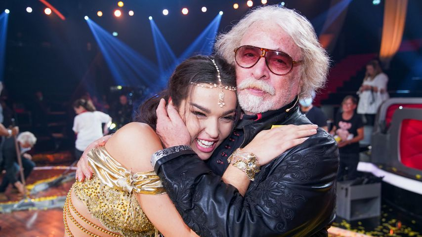 """Lily Paul Ronacle and her father Bernard Paul V """"let's go dancing""""Finale 2020"""