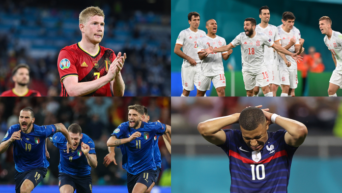 Nations League: Giant duels in the semi-finals