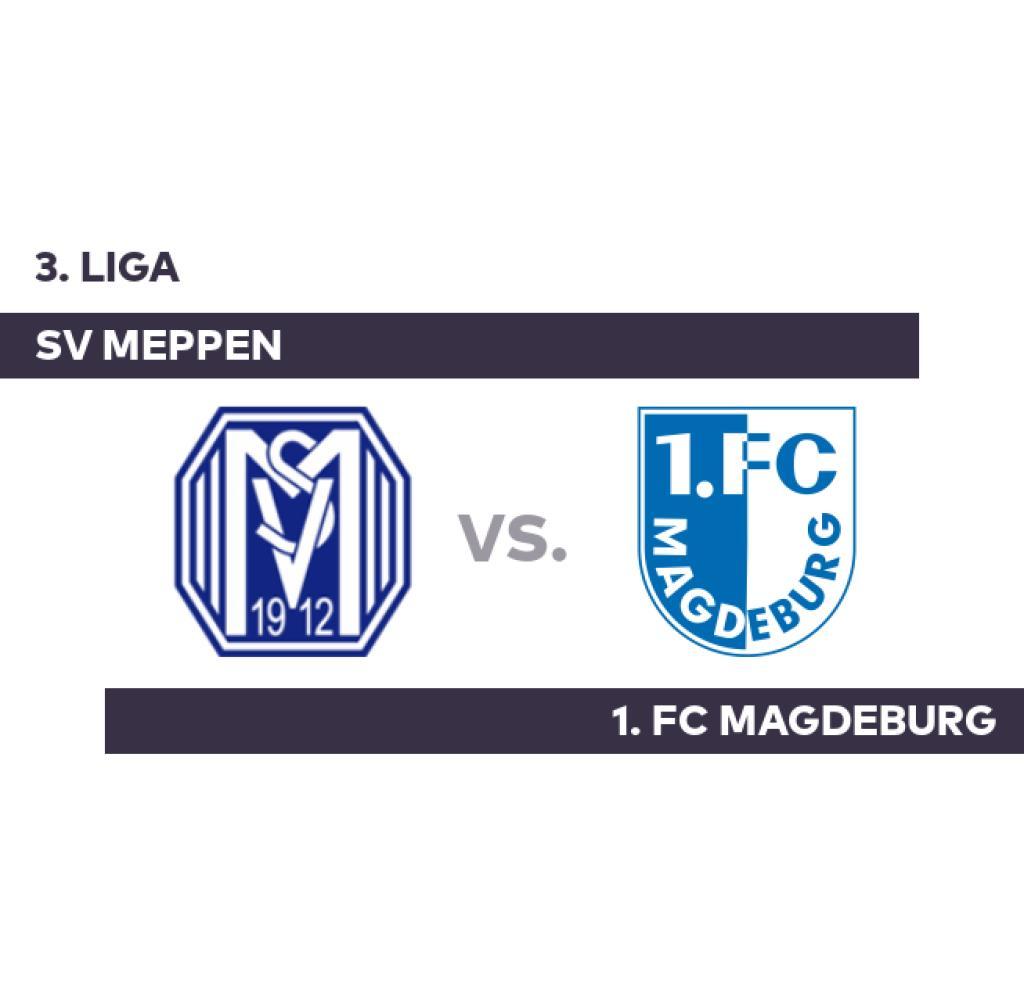 SV Meppen - 1. FC Magdeburg: 1. FC Magdeburg External power - 3rd League