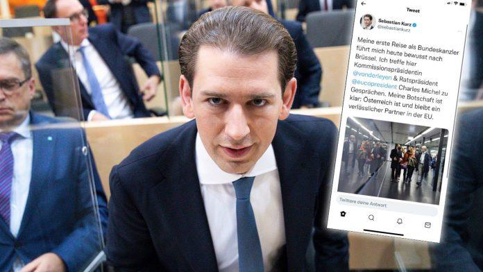 Twitter glitch: Soon Kurz again Chancellor... - Politics Abroad